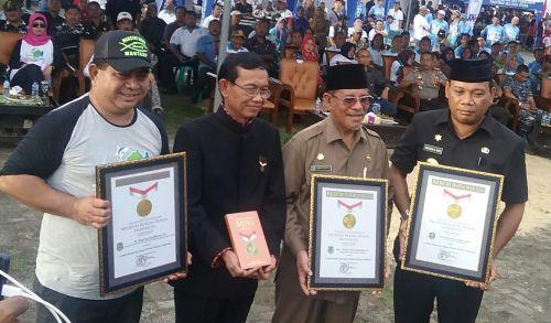 Wonderful Morotai pada Efent Fishing Morotai 2016 Berhasil Pecahkan Rekor MURI