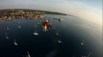 """Enjoyed Morotai city """"Aerial View with Paramotor"""""""