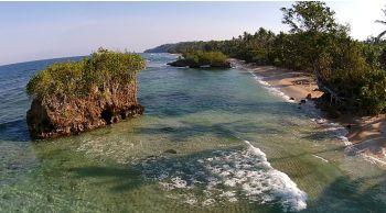 Pantai Rorasa Pulau Morotai